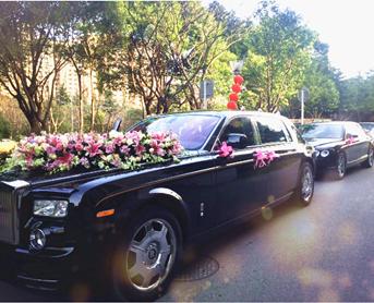 小林玫瑰婚车