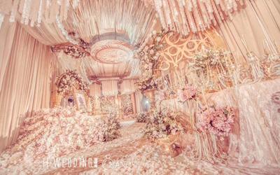 新人仙气缭绕的梦境婚礼 许一世情缘永相伴