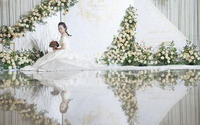 江阴新人婚礼 手挽手前行哼唱不老的歌