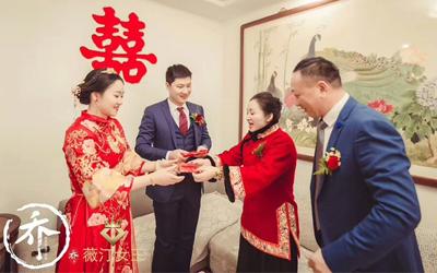 江阴新人婚礼花絮 有你的日子便是全世界